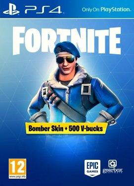 fortnite battle royale royale bomber pack 500 v bucks ps4 - igvault fortnite items